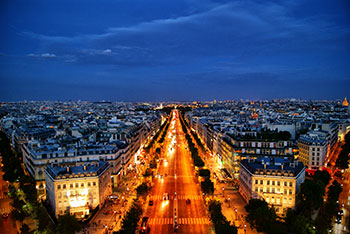Champ de Elysee in Paris