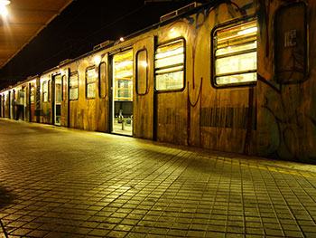 Metrostation Priamide in Rom